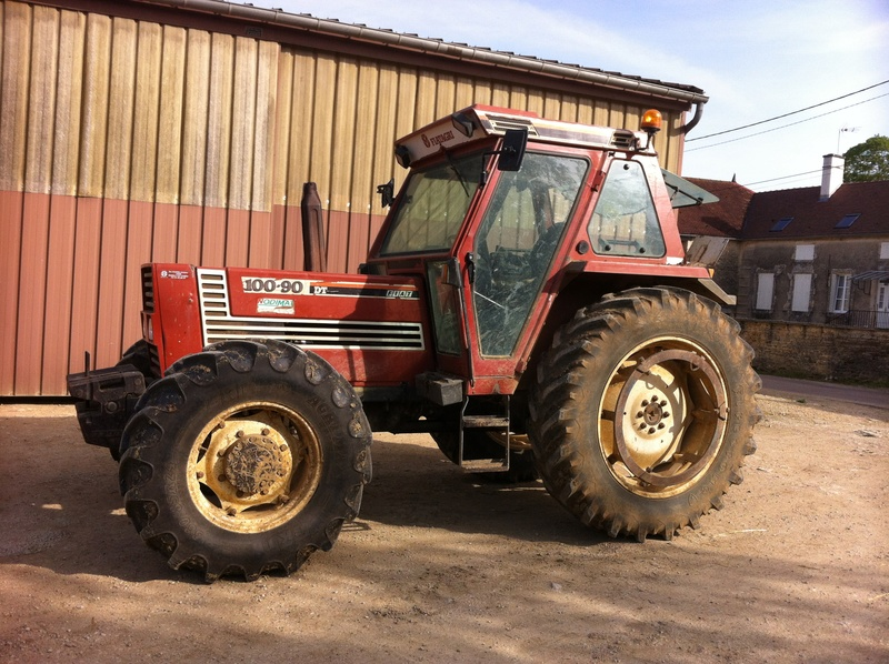 Vend tracteur FIAT 100-90 - Page 2 Img_1811