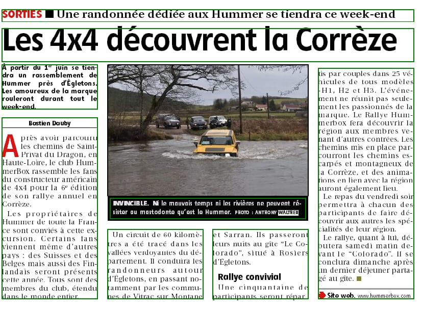 Rdv pour la 6 éme édition du Rallye Hummerbox 1/2/3 Juin 2018 en Corrèze(19300) - Page 3 33986810