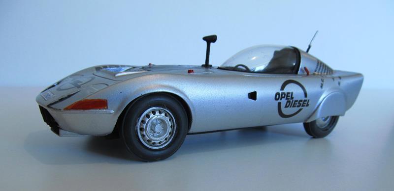 OPEL GT Diesel Rekord Wagen  in 1:25 0210