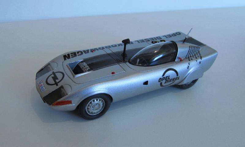 OPEL GT Diesel Rekord Wagen  in 1:25 0310