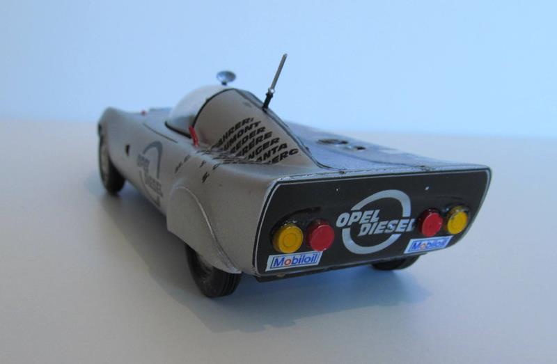 OPEL GT Diesel Rekord Wagen  in 1:25 0610