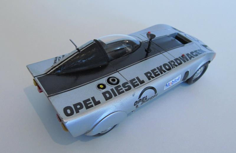 OPEL GT Diesel Rekord Wagen  in 1:25 0710