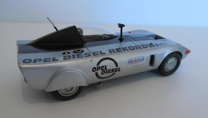 OPEL GT Diesel Rekord Wagen  in 1:25 0810