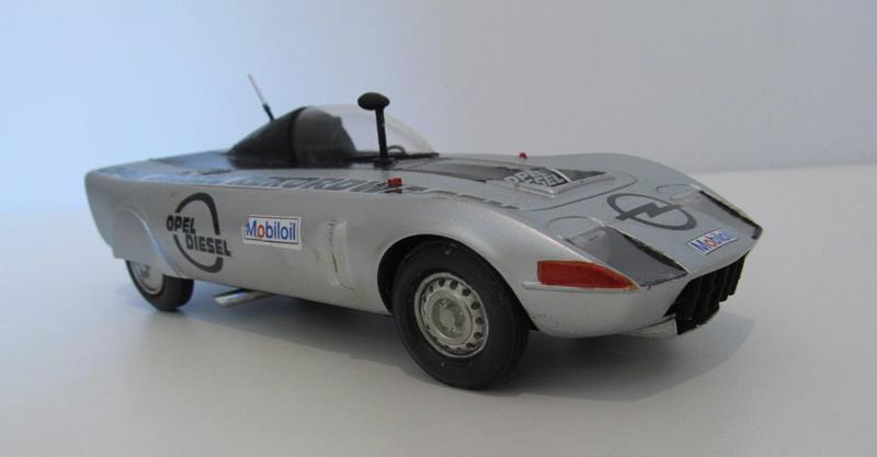 OPEL GT Diesel Rekord Wagen  in 1:25 0910