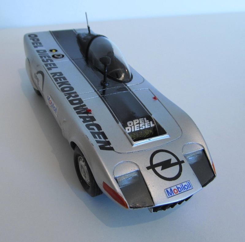 OPEL GT Diesel Rekord Wagen  in 1:25 1010