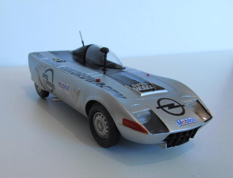 OPEL GT Diesel Rekord Wagen  in 1:25 1110
