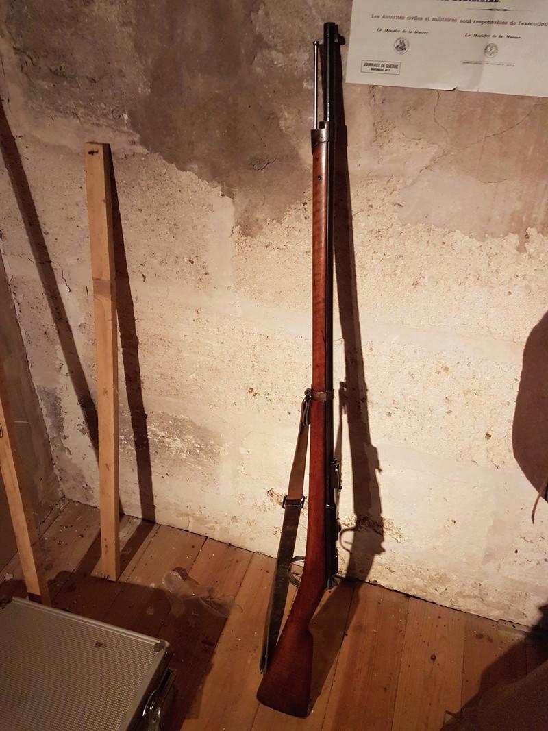 Fusil d'infanterie gras modèle 1866-74 20180315