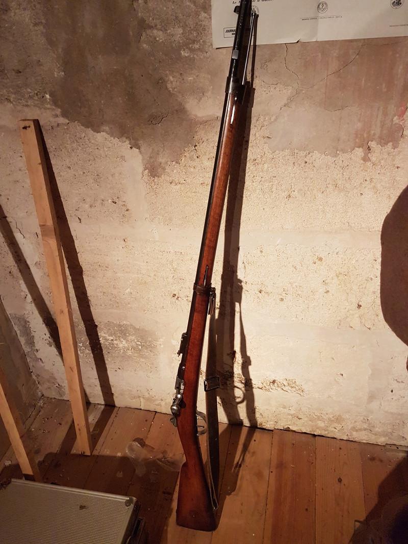 Fusil d'infanterie gras modèle 1866-74 20180316