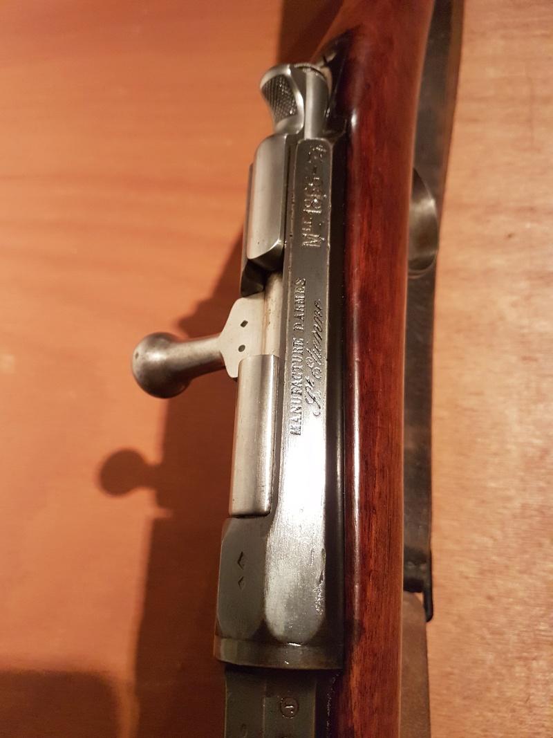 Fusil d'infanterie gras modèle 1866-74 20180325