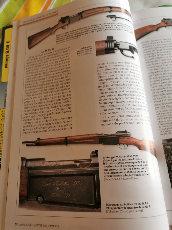 Hors Série de la GAZETTE DES ARMES N°26 Img_2107