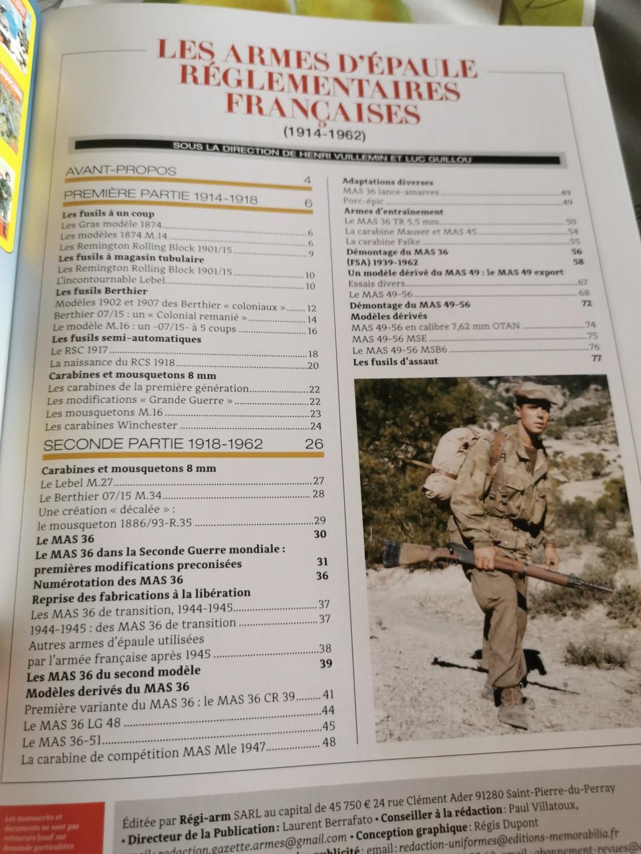 Hors Série de la GAZETTE DES ARMES N°26 Img_2108