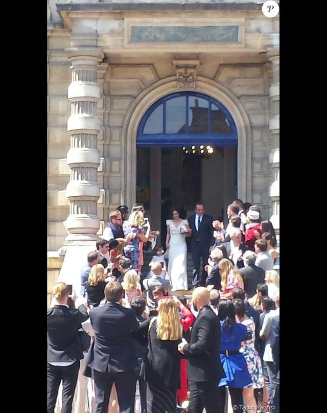 Jean Dujardin et Nathalie Péchalat 40571211