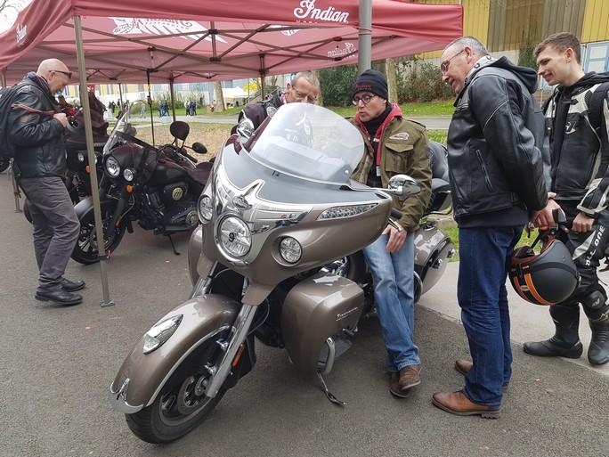 ROAD SHOW INDIAN à St Brieuc avec Breizh Riders 20180414