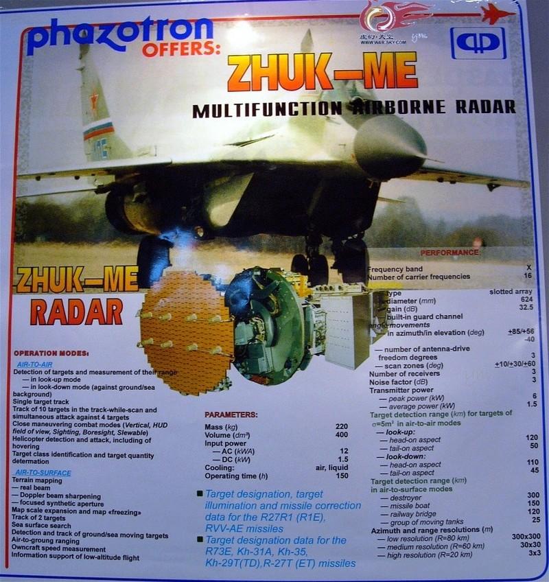 MiG-29/ΜiG-35 Fulcrum: News - Page 35 Zhuk10