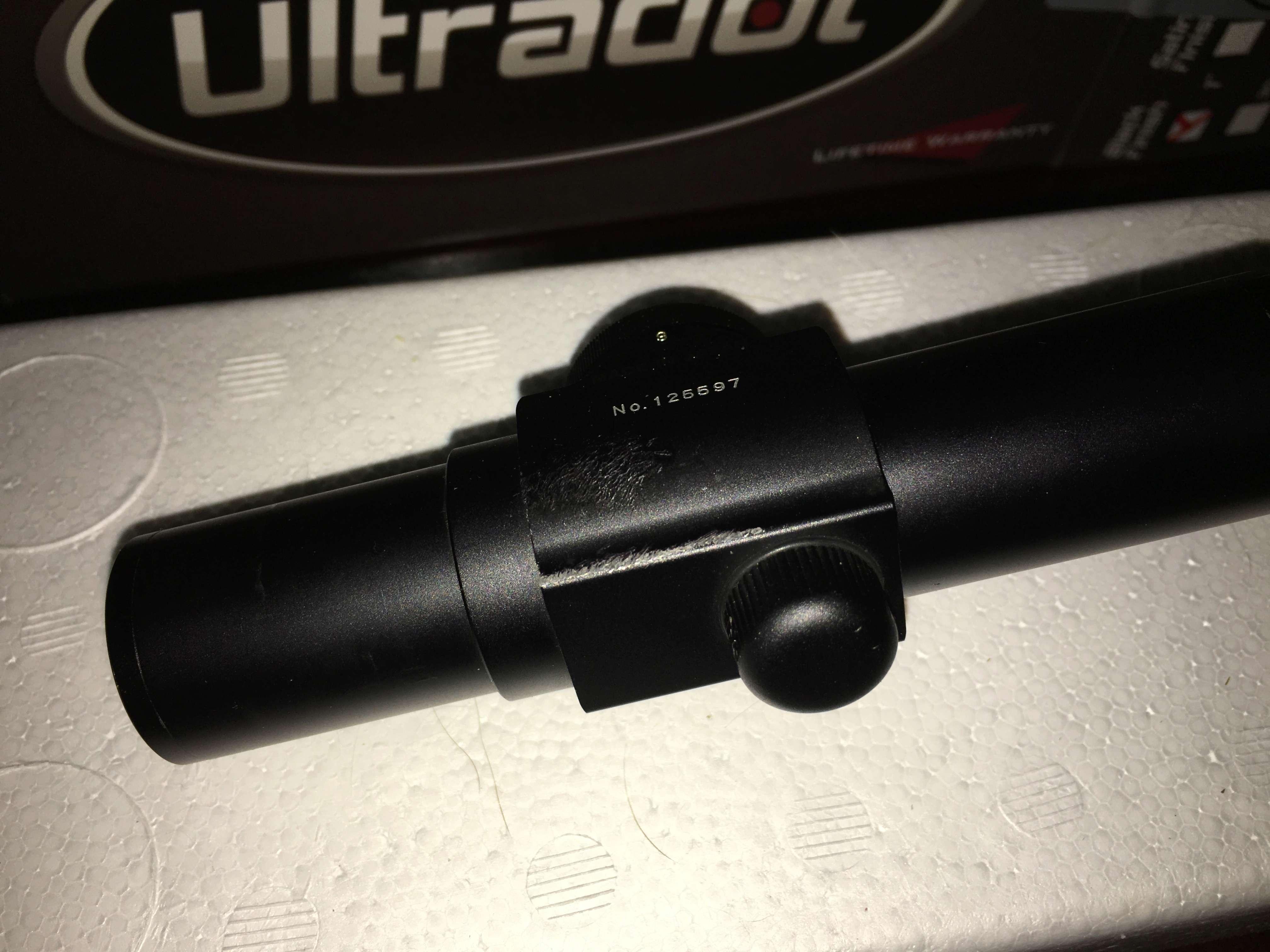 """For Sale: Ultradot 1"""" Black F15b7e10"""