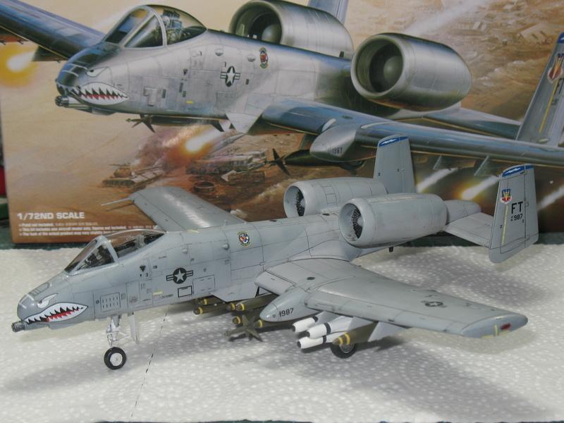 [Academy] A-10A Iraqi freedom 1/72 Img_2841