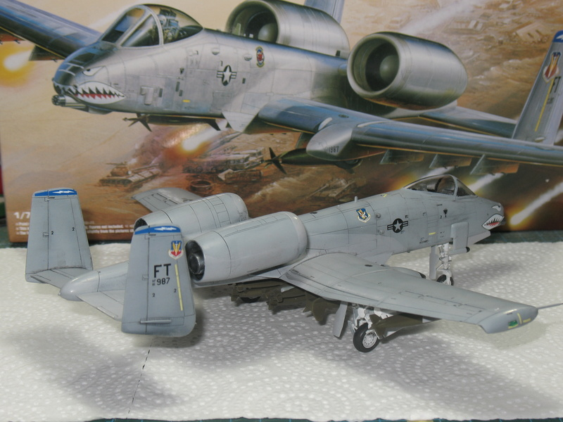 [Academy] A-10A Iraqi freedom 1/72 Img_2850