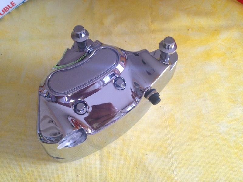 Modification freinage Av sur Softail 91 Image15