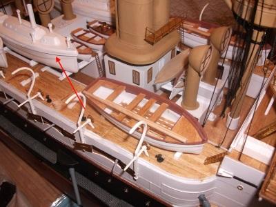 HMS HANNIBAL 1/96  (Predreadnought) DEAN'S MARINE - Page 5 Dscf3410