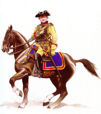 Uniformes Guerre de 7 ans 1757_c11