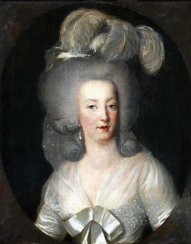 Portrait de la Reine Marie-Antoinette par Joseph Boze - Page 4 0_d9a610