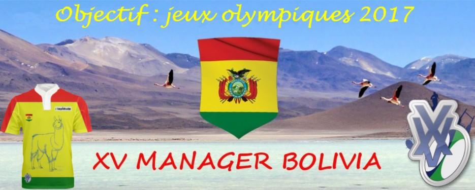 XV MANAGER BOLIVIA