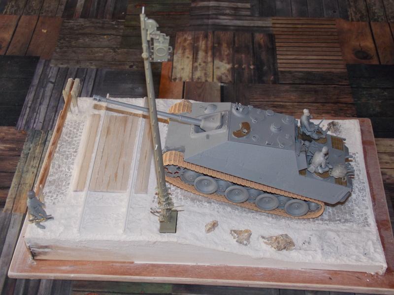 Jagdpanther, Fallschirmjäger et décor perso (Dragon 1/35) Dscn5824