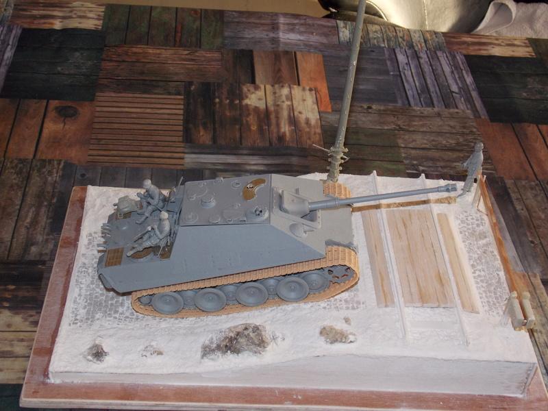 Jagdpanther, Fallschirmjäger et décor perso (Dragon 1/35) Dscn5825