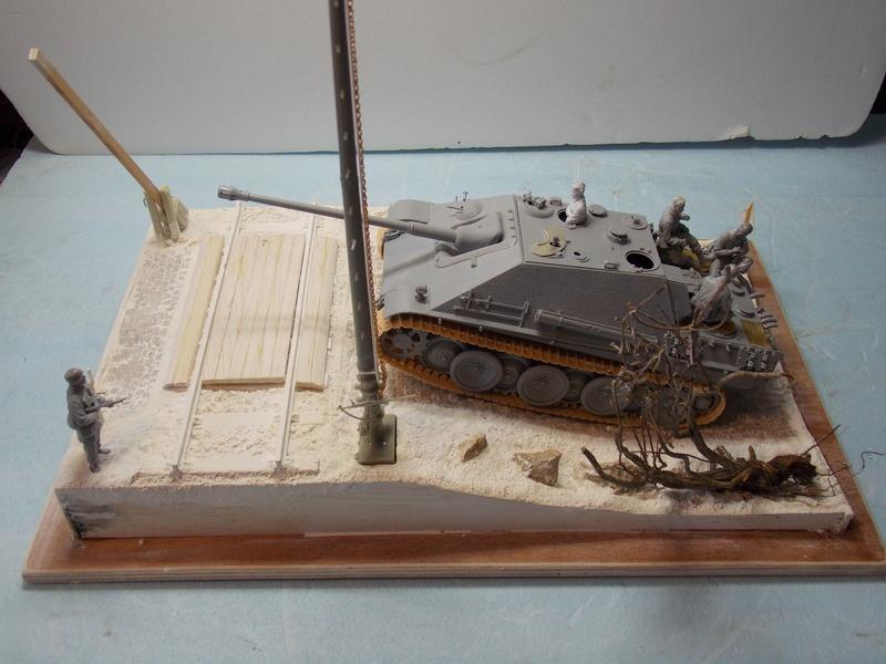 Jagdpanther, Fallschirmjäger et décor perso (Dragon 1/35) - Page 2 Dscn5996
