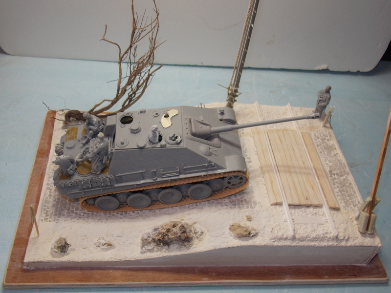 Jagdpanther, Fallschirmjäger et décor perso (Dragon 1/35) - Page 2 Dscn6020