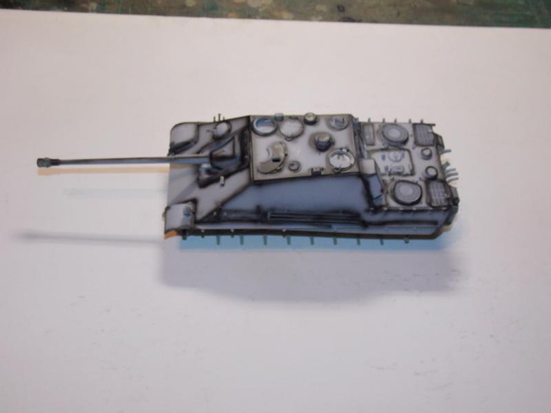 Jagdpanther, Fallschirmjäger et décor perso (Dragon 1/35) - Page 4 Dscn6170