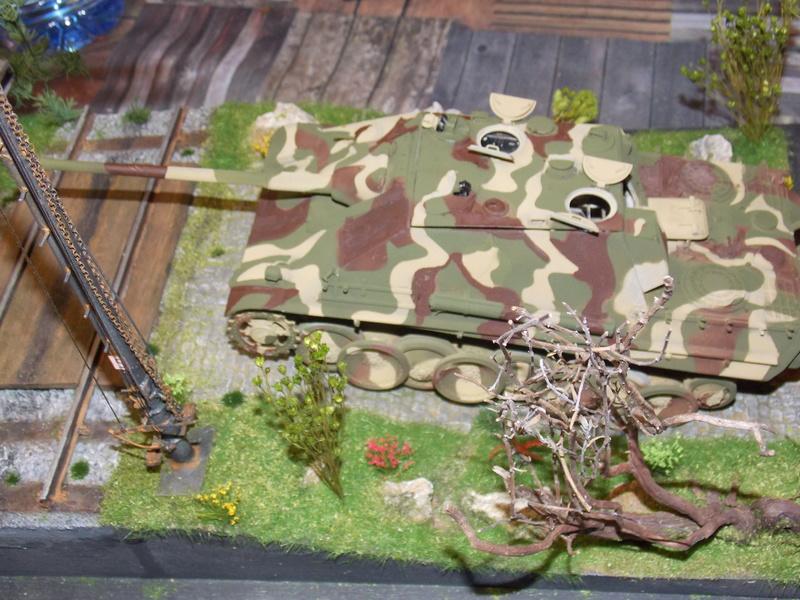 Jagdpanther, Fallschirmjäger et décor perso (Dragon 1/35) - Page 4 Dscn6207
