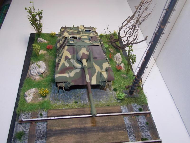 Jagdpanther, Fallschirmjäger et décor perso (Dragon 1/35) - Page 4 Dscn6215