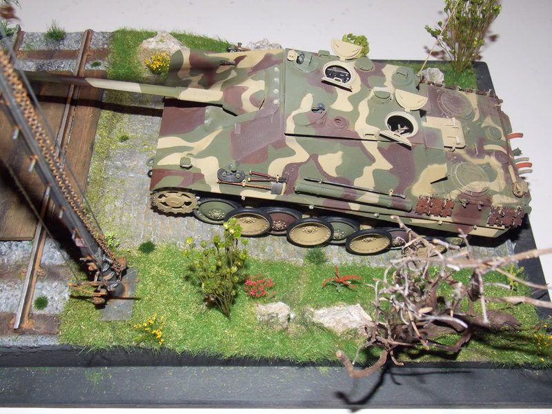 Jagdpanther, Fallschirmjäger et décor perso (Dragon 1/35) - Page 5 Dscn6231