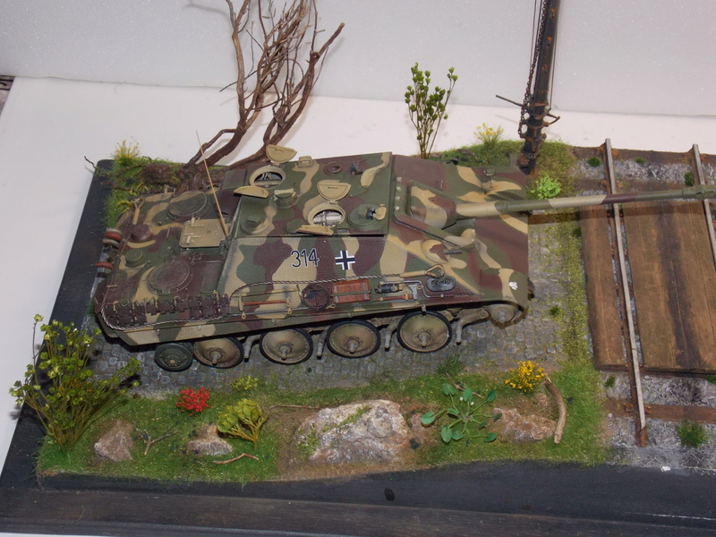 Jagdpanther early (DRAGO 1/35)+ fallschirmmjager  - Page 4 Dscn6251