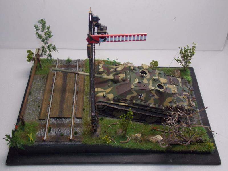 Jagdpanther, Fallschirmjäger et décor perso (Dragon 1/35) - Page 5 Dscn6266