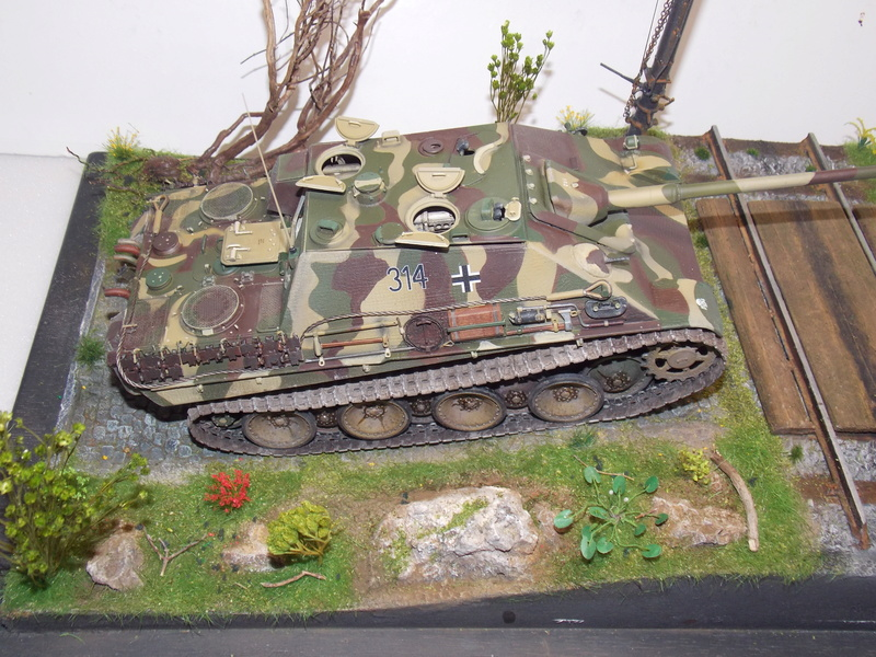 Jagdpanther early (DRAGO 1/35)+ fallschirmmjager  - Page 4 Dscn6271