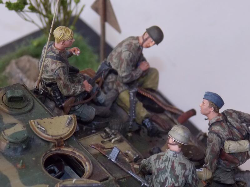 Jagdpanther, Fallschirmjäger et décor perso (Dragon 1/35) - Page 7 Dscn6417