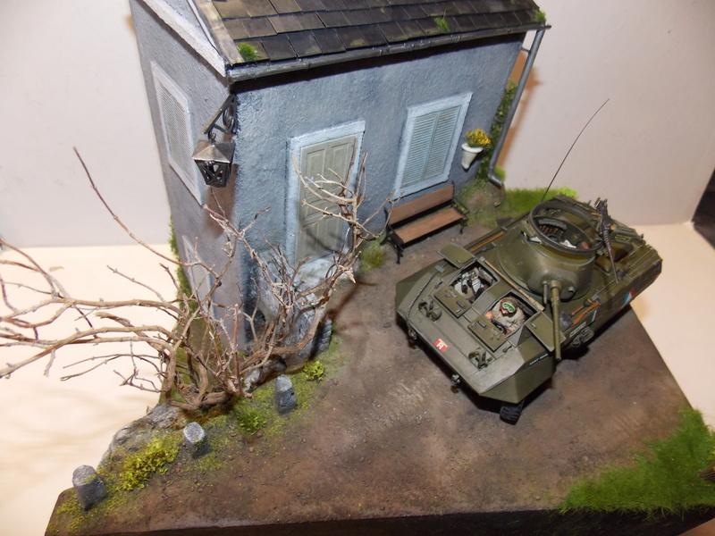 M8 Greyhound TAMIYA avec intérieur Verlinden et décor PATROSS 1/35 - Page 4 Dscn6464