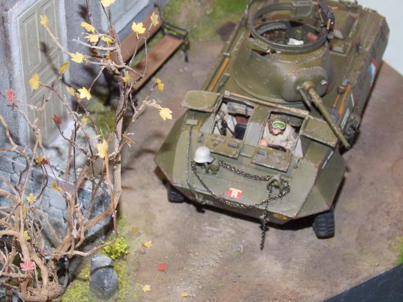 M8 Greyhound TAMIYA avec intérieur Verlinden et décor PATROSS 1/35 - Page 4 Dscn6467