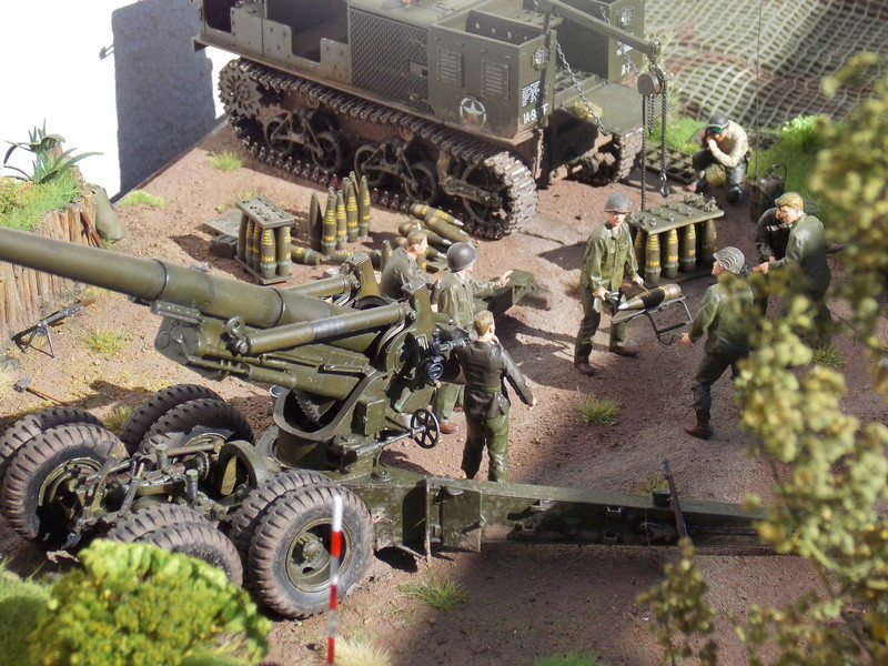 M8 Speed Tractor + 155 long tom 1/35 (Hobby Boss-AFV-Tamiya ) - Page 2 Dscn6607