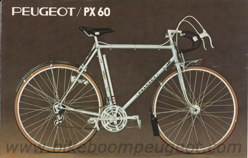 Peugeot PX60 - milieu des années 70 Peugeo11