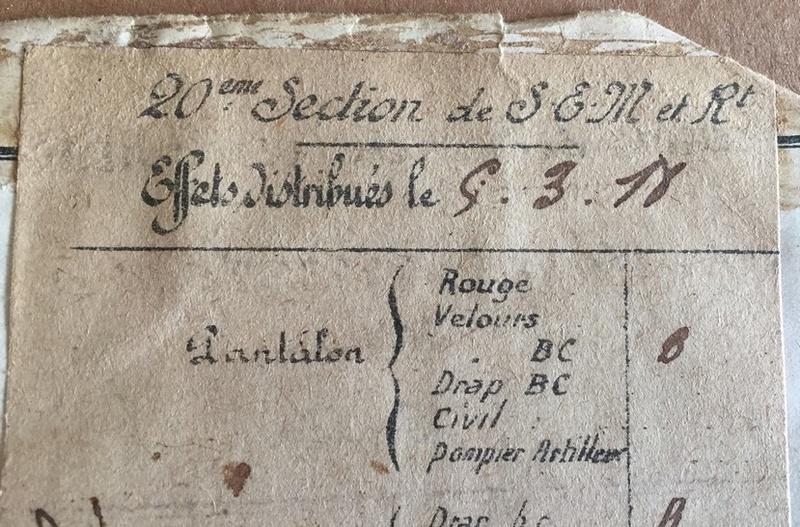 Il est moche mais c'est le livret militaire de Pierre DRIEU LA ROCHELLE Img_e128