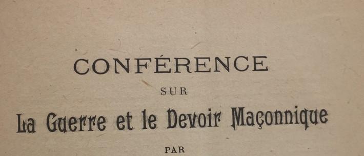 Ouvrage de la franc maçonnerie sur les atrocités teutonnes daté de 1915 Img_e210
