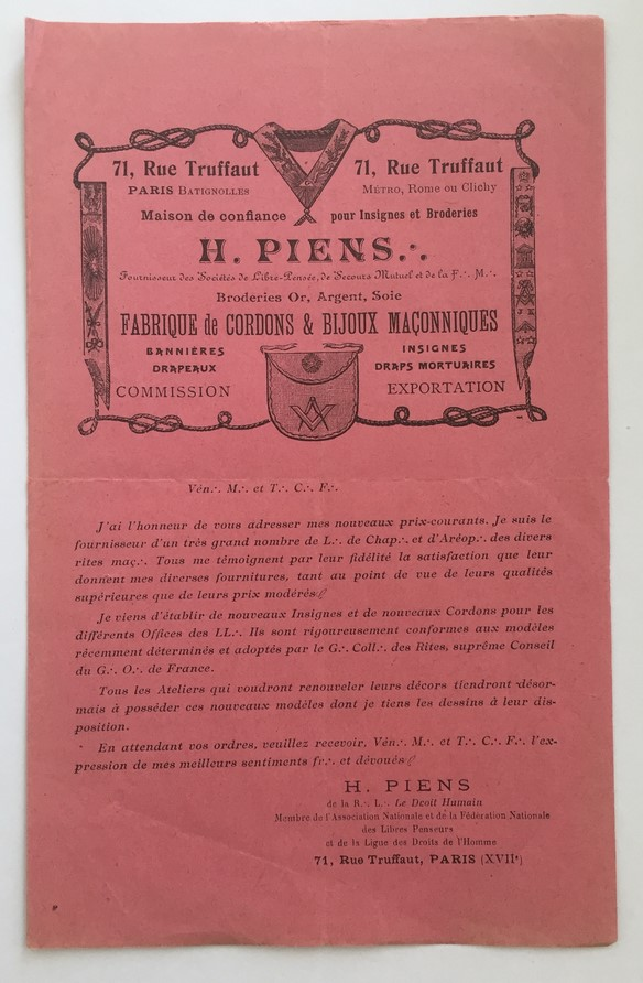 Ouvrage de la franc maçonnerie sur les atrocités teutonnes daté de 1915 Img_e215