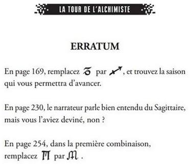 Escape Book 01 - La Tour de l'Alchimiste Vieila10