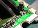 Sega CD 1 : réparation en cours -> problème contact de condo arraché  Img_2010