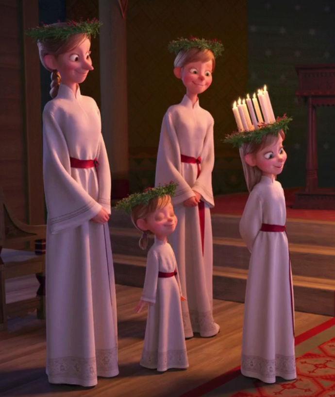 [Moyen-Métrage Walt Disney] Joyeuses Fêtes avec Olaf (2017) - Page 14 Sainte10
