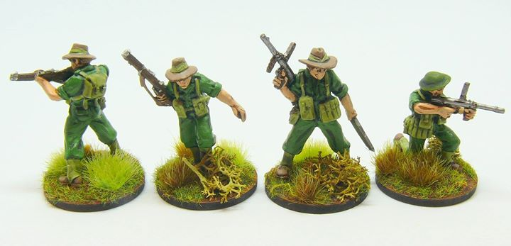 [Vente] 28mm Australiens WW2 et Halftrack US Warlord Games 28061810