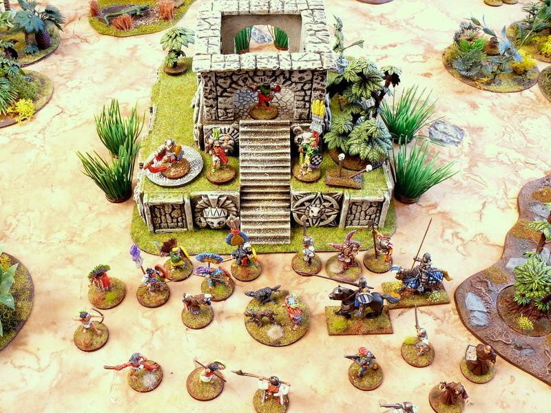 """Première campagne """"trône du tonnerre"""" en pays aztéque - premier contact P1330716"""